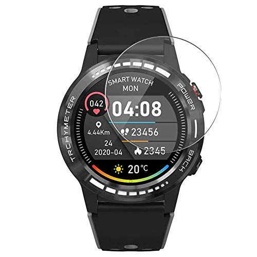 Vaxson 3 Stück Schutzfolie, kompatibel mit PRIXTON SW37 M7 M7S smart watch, Displayschutzfolie TPU Folie [nicht Panzerglas] Neue Version