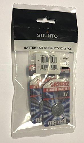 Suunto Batteriewechselsätze für Mosquito und D3 Tauchcomputer - 2 Stück