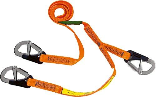 Baltic Safety Line 3 Hook - Orange. 2m