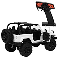 10代のゲームのための女の子のためのRcカーおもちゃゴムソフトタイヤ260エンジン(white, Standard)