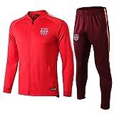 Bárcèlǒna 2021 Fútbol Jersey Entrenamiento Deportivo Ropa Deportiva de Manga Larga de Manga Larga Uniforme Uniforme de fútbol y Pantalones, Viajes de Ocio, Mejor reg L