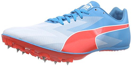 Puma Herren evoSPEED Sprint v6 Laufschuhe, Blau (atomic blue-red blast-white 01), 47 EU