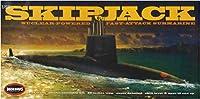 メビウスモデル 1/72 アメリカ海軍 原子力潜水艦 USS スキップジャック プラモデル