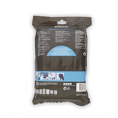 Brabantia Bin Liners, Size C, 10-12 L - 40 Bags