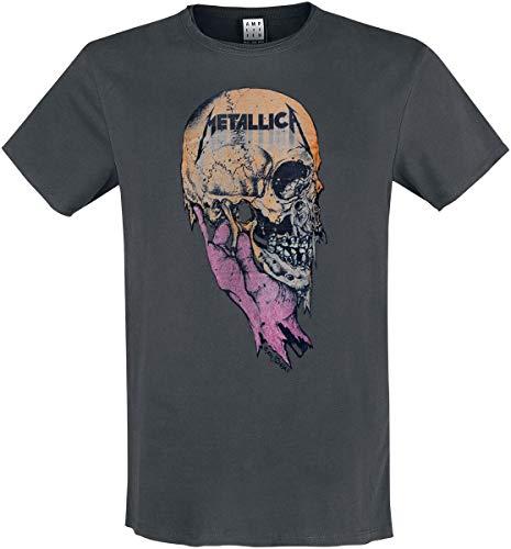 Amplified Herren Shirt Metallica SAD BUT True dunkelgrau S