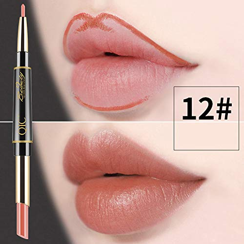 Scopri offerta per SMENGG Rossetto Matita colori per labbra Lip Liner Waterproof Lip Liner di trucco Beauty Makeup(L)