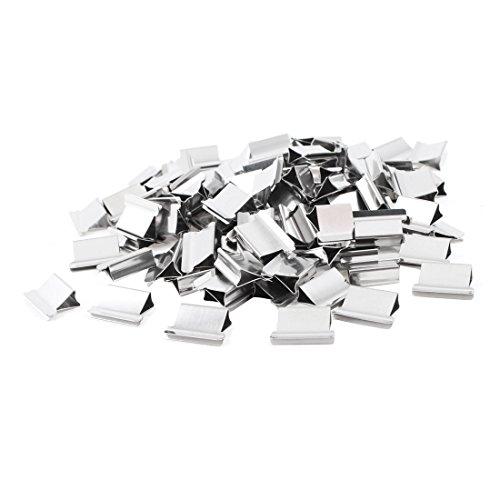100 pcs 15mm x 10mm x 5mm Tacker Spender Nachf¨¹llung Papier Klammer Clip Metall de de