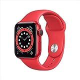 AppleWatch Series 6(GPSモデル)- 40mm (PRODUCT) REDアルミニウムケースと(PRODUCT) REDスポーツバンド