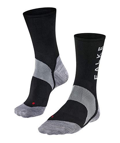 FALKE Herren BC6 Racing Biking Socken, Black-Mix, 44-45