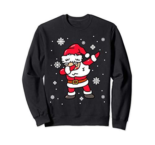 Dabbing Santa Claus Navidad Lindo Niños Niñas Regalos Sudadera