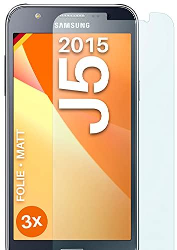 moex Protector de pantalla mate compatible con Samsung Galaxy J5 (2015) – Protector de pantalla antirreflectante, protector de pantalla mate – 3 unidades