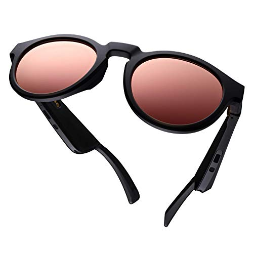 Bose Frames Brillengläser-Kollektion, Modell Rondo in Roségold verspiegelt (polarisiert), austauschbare Ersatzgläser, 12.00 Stück