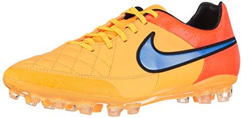 Nike Tiempo Legacy AG-R, Scarpe da Calcio Uomo, (Laser Pures Orange/Volt/Persisches Violett 858), 41 EU