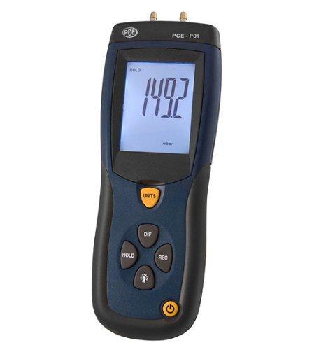 PCE Instruments Manometer PCE-P30, ±2000 mbar, Druckmesser, Druckmessgerät