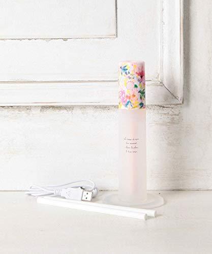 [ アフタヌーンティー リビング ]フラワー柄スティック型加湿器 ピンク