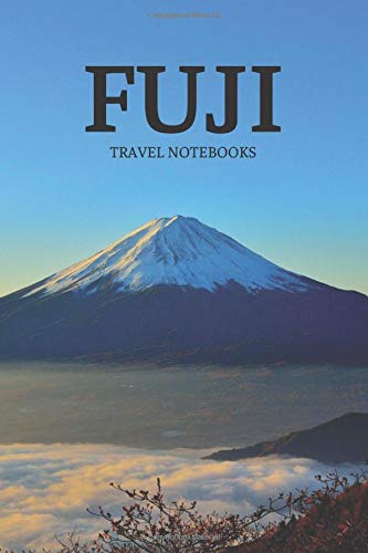Fuji: Travel Notebook, Journal, Diary (110 Pages, Graph Paper, 5 Squares per Inch, 6 x 9)