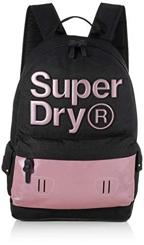 Superdry Reflective Montana Women's Backpack, Purple, 35x20x45 centimeters (W x H x L)