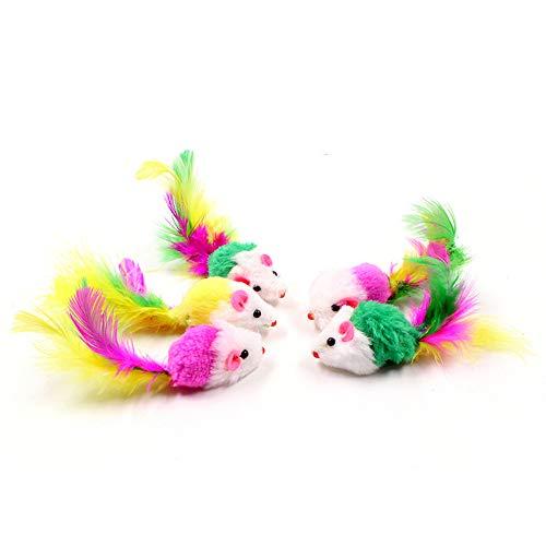 20個セット 猫おもちゃ ネズミ ペット 色ランダム ネズミおもちゃセッ ネズミぬいぐるみ 子猫 成猫 運動不足 ストレス解消 猫遊び 噛むおもちゃ ペットおもちゃセット