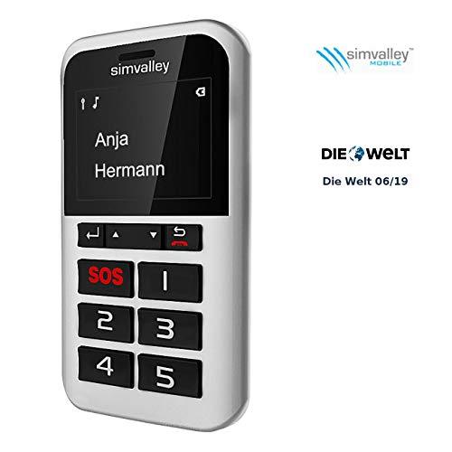 günstig Simvalley Mobile mit 5 Tasten für Senioren: Pico RX-901 mit 5 Tasten mit Premium-Anrufgarantie… Vergleich im Deutschland