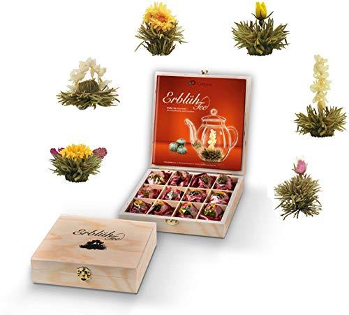 Creano Flowering Tea Abloom Tea - Flower Tea Ball Gift Set in Stylish...