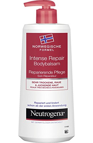 Neutrogena Norwegische Formel Intense Repair Body Lotion, Körpercreme, Sehr trockene, raue & juckende Haut, 250 ml