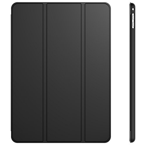 JETech Case for Apple iPad Air 2 (Not for iPad Air 1st Edition), Smart Cover Auto Wake/Sleep, Black
