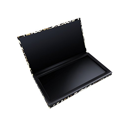 Allwon Magnetic Makeup Palette Leopard Empty Makeup Palette for Eyeshadow Lipstick Blush Powder