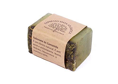 Sabonete Vegano de Camomila, Natural, Artesanal e Orgânico.
