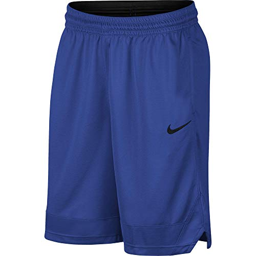 Nike Dri-FIT Icon, Men's basketball shorts, Athletic shorts with side pockets, Game Royal/Game Royal/Black, L