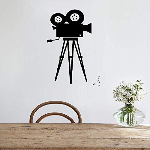 Wandaufkleber Kinderzimmer wandaufkleber 3d Filmkamera Film-Werkzeug-Kino-Retro Hauptdekoration-Kamera