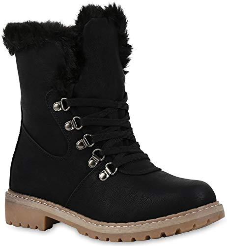 Elara Damen Biker Boots | Gemütliche Worker Stiefeletten | Warm Gefüttert, Khaki 40