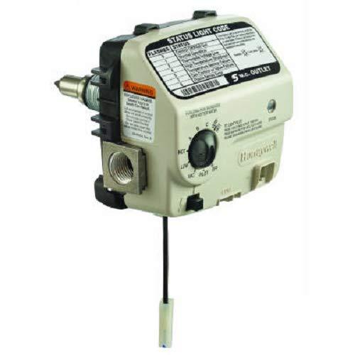 "Honeywell WT8840B1000 Water Heater Gas Control Valve, NAT 160 Degree F 1"" Cavity"
