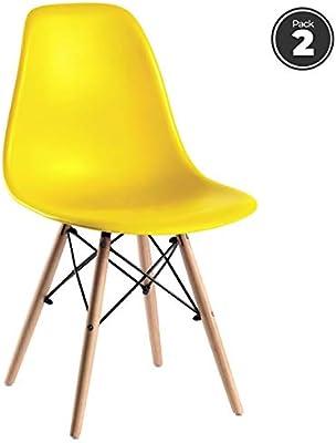 Design Chaise Pieds Eiffel Bois Inspiration x MOBISTYL 4 SUzpMV