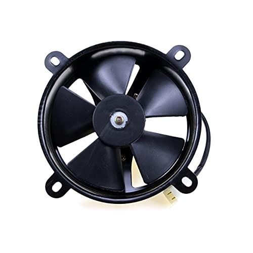 Shutters 2020 nuevos ABS 6' Ajuste del radiador de refrigeración eléctrica Delgada de Alto Rendimiento 12V Fan para 150C 200CC Bicicleta de Tierra cuádruple