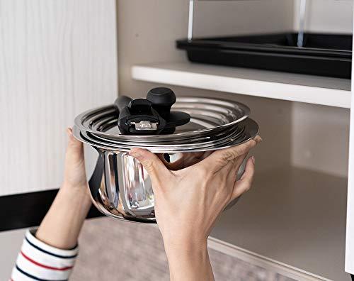 宮崎製作所十得鍋鍋セットソースポット(16・18・20cm)兼用蓋片手ハンドルJN-ST-1