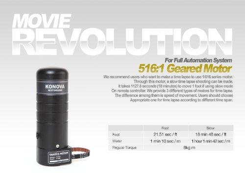 Konova Geared Motor 264:1