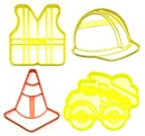 CONSTRUCTION WORKER EQUIPMENT SAFETY GEAR SET...