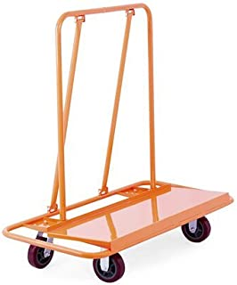 Mophorn Drywall Cart 3000Lbs Load Capacity Drywall Cart Dolly Handling Sheetrock Sheet Panel Service Cart Heavy Duty Casters (3000 lbs)