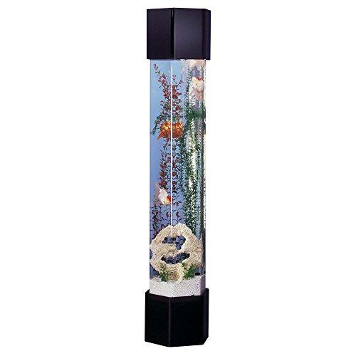 Midwest Tropical Fountain AquaTower 50 Gallon Hexagon Aquarium