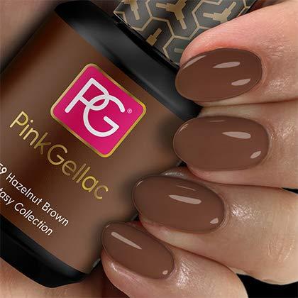Pink Gellac Gel Nagellak Kleur 259 Hazelnut Brown