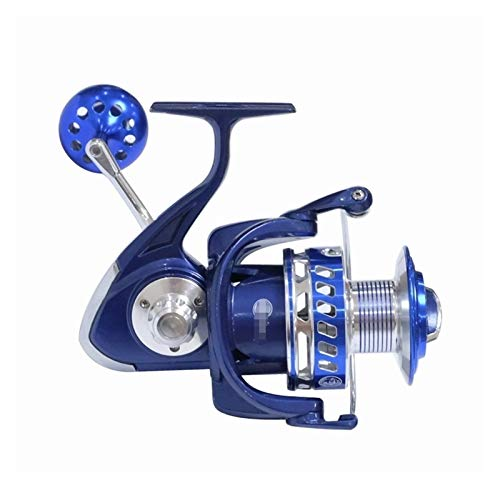 KKAAMYND Hiumi 30kg Power Drag Saltiga Spinning Rollen 6000 7000 8000 9000 10000 Hochleistungsseeseefischerboot Angeln Jigging Angelrolle (Spool Capacity : 5000 Series)