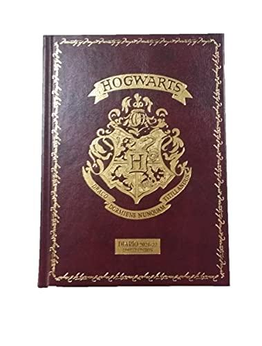 Diario Scuola Harry Potter 2021/2022 Agenda Datata 16 Mesi Marrone 18x13 cm + Penna Colorata Omaggio