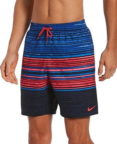 Nike Men's Swim Trunks 100% Polyester NESSB465-440 02SU30339 5 Inch Seam