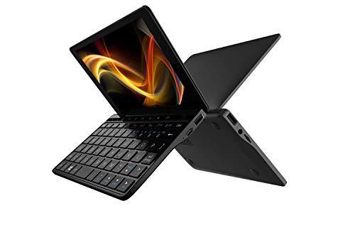 "GPD Pocket 2 [Latest HW Update] Mini Laptop 7"" Touch Screen Aluminum Shell UMPC Windows 10 System CPU Intel m3-8100Y 8GB/256GB (Amber Black)"
