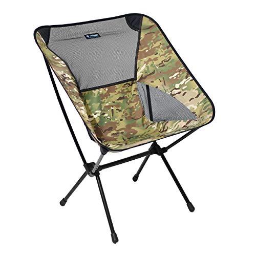 Helinox Chair One XL, campingstoel, vouwstoel, aluminium, licht, stabiel, opvouwbaar, incl. draagtas, Crimson, one size