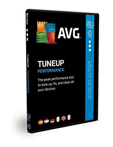 AVG TuneUp | Multidispositivo | 1 Anno | 10 dispositivi | Box