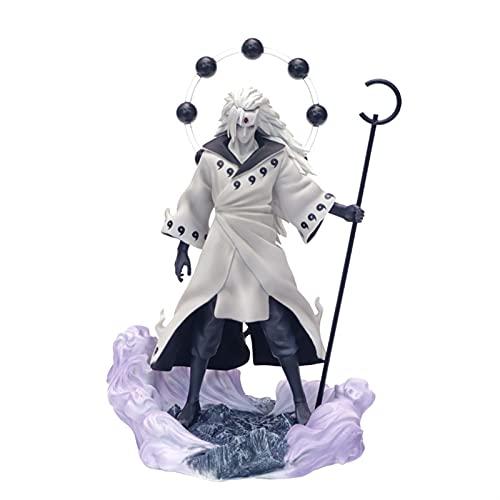 Naruto 3 Köpfe Uchiha Madara Figur Figuren Rikudo Sennin PVC Modell Spielzeugstatue