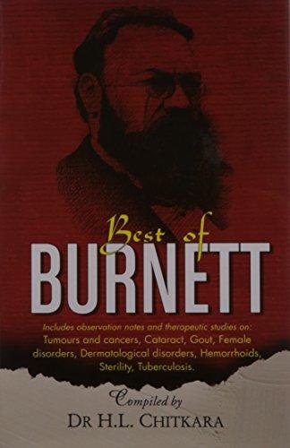 The Best of Burnett: Materia Medica, Therapeutics & Case Reports: 1