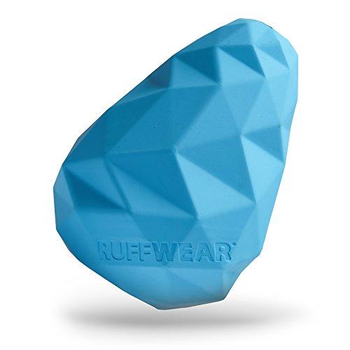 Ruffwear Kaufestes Hundespielzeug aus Gummi, Futter und Leckerli Aufbewahrung, One Size, Blau (Metolius Blue), Gnawt-a-Cone