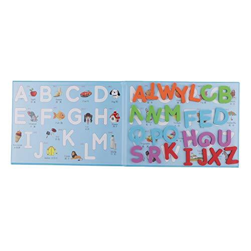 SaniMomo ABC Building Animals Patterns Learning Educational Bricks Toy Set